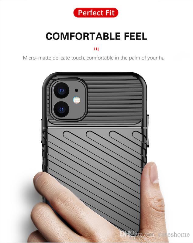 Designer TPU caso di iPhone per 11 Pro Max XR XS MAX Samsung S10 Nota 10 A10E Google Pixel 4XL Huawei Mate 20 30 Pro