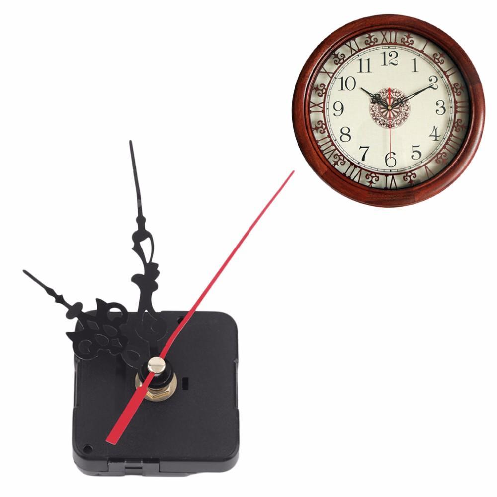 Профессиональные и практичные кварцевые настенные часы механизм движения DIY ремонт инструмента комплект деталей с синими руками с рейтингом 4.8 / 5 на основе