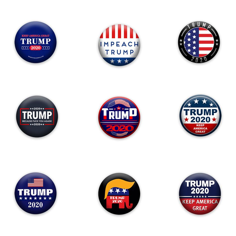2020 Trump 2020 Badge Pins America President Campaign Political Brooch Coat Jewelry American Presidential Election Brooches Party Favor Ljja3793 From Shuaijinjin China 0 32 Dhgate Com