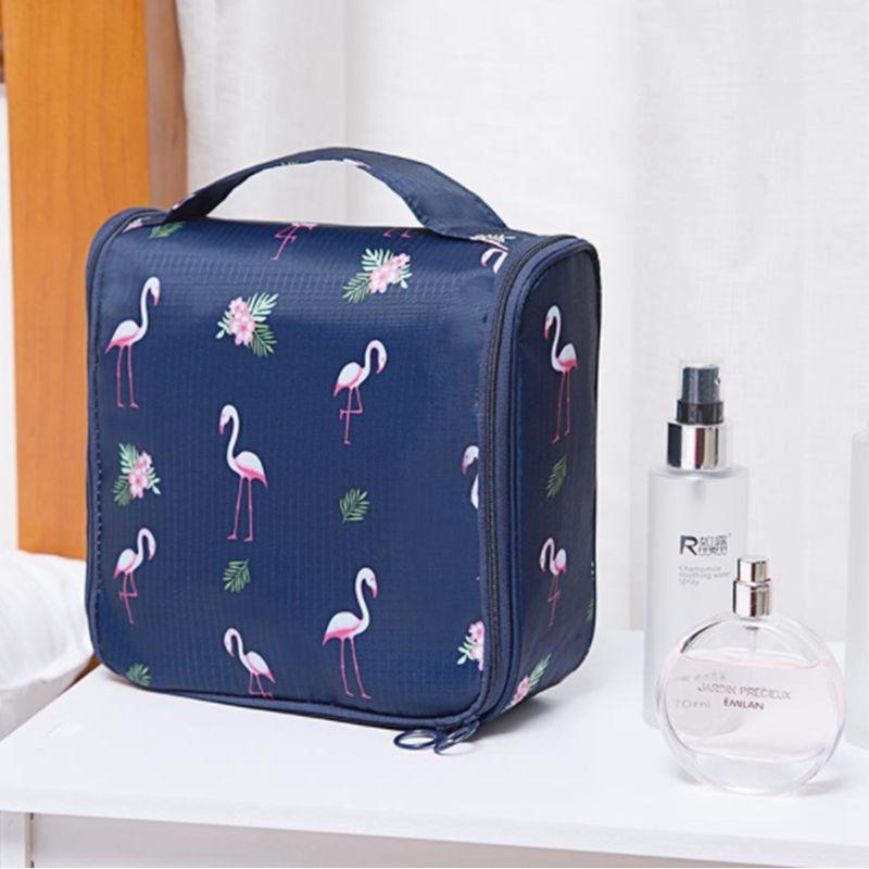 Toiletry Bag Woman Waterproof Makeup Cosmetics Travel Hangs easily Travel Camping Bags