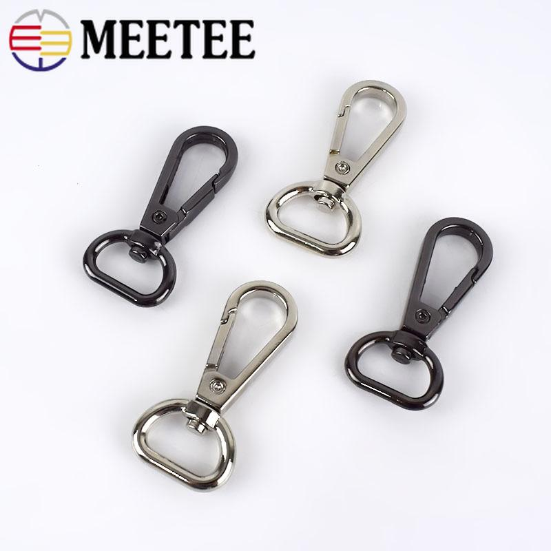Bag Strap Lobster Buckles Dog Collar Hook Keychain Metal Clasps DIY Accessories