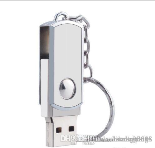 HK-Qualitäts-8GB Schwenker-Metall-USB 3.0 Flash Drive Speicher-Daumen-Key-Stock-Feder Speicher Großhandel