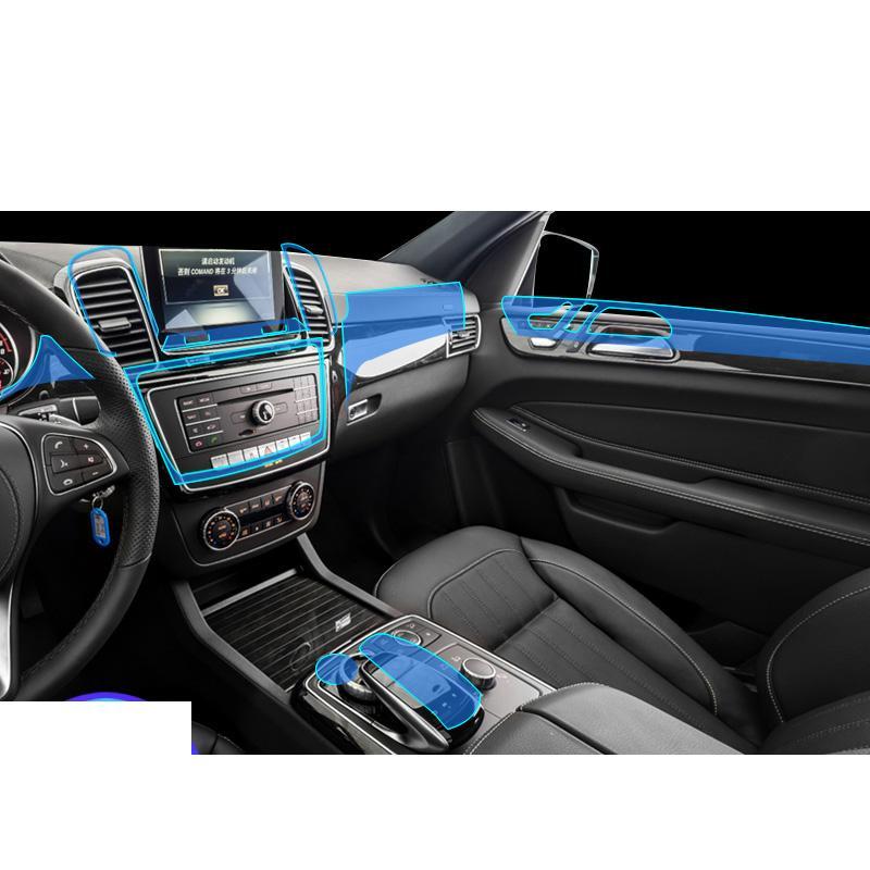 Lsrtw2017 ТП GPS салона пленочных панелей передач аксессуары Защитная наклейка для GLS x166 класса 2013-2019 GL