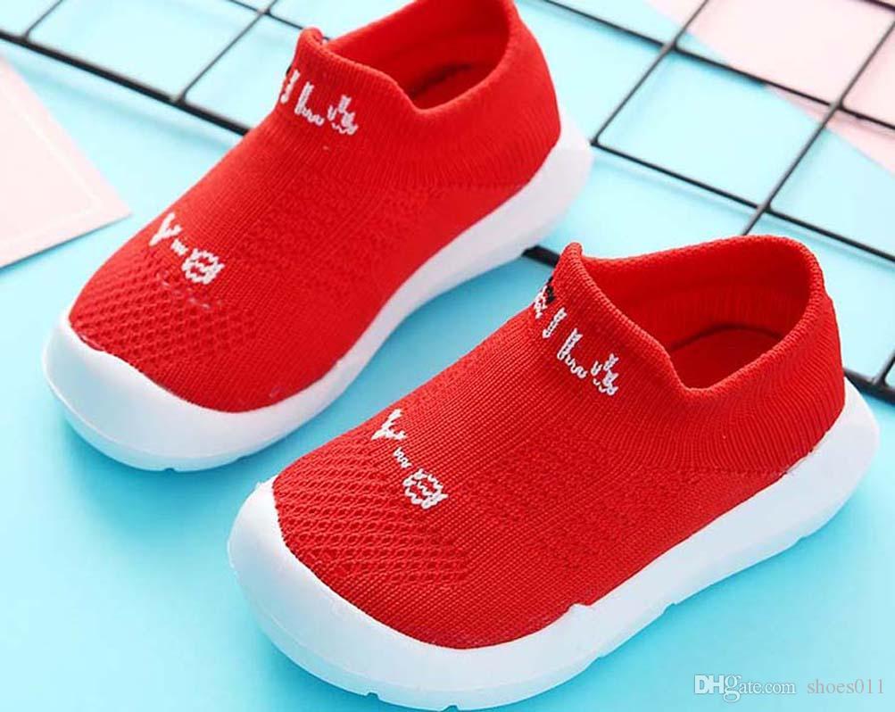 Top Quality Classic Sneaker Chaussures enfants Moda intelligente chaussures scarpe di cuoio piattaforma scarpe per bambini con tre letti aria shoes011 PX380
