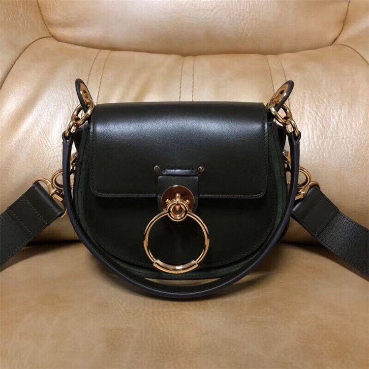 Luxury Classic Women Flap Chain Crossbody Bags Handbag Circle Ring designer Shoulder Bags female Designer Handbags Messenger Purse