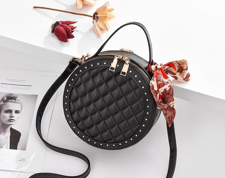 designer totes mini handbag chian Shoulder Bag Women Leather Handbags Womens small round bag Messenger Bags flap shoulder bag