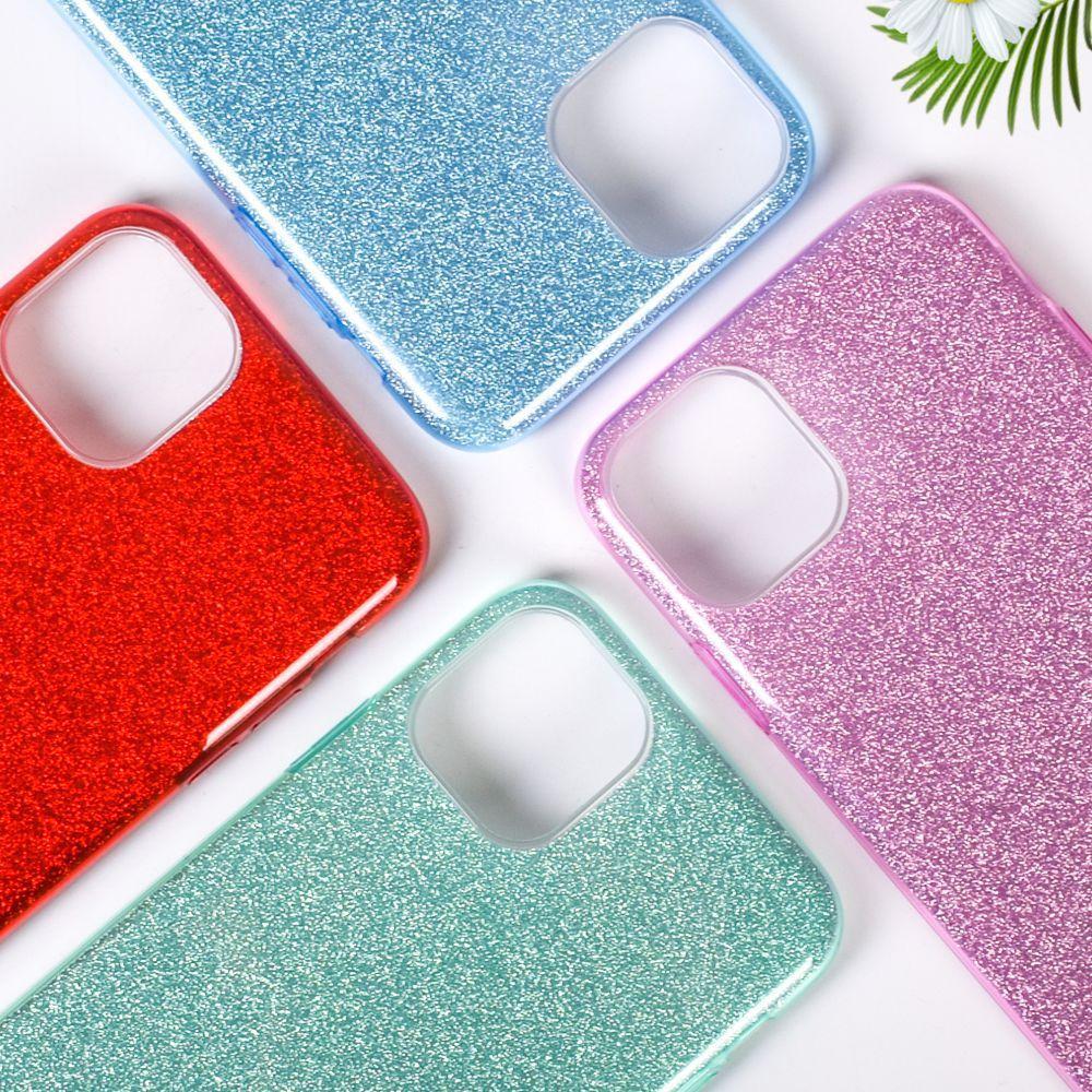 Premium 3 en 1 cubierta de la caja del teléfono de Bling para el iPhone 11 Pro XS MAX X XR 6 7 8 Plus 5S Samsung S9 S10 Nota 10 Plus A10S A10E A20E A20S A70 Huawei