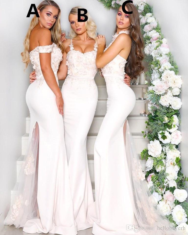 Африканский Русалка Sexy Длинные платья невесты кружева аппликация Плюс Размер Свадебные платья гость Вечерние платья выпускного вечера