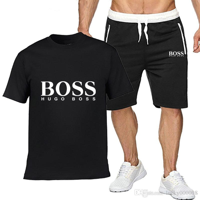 hugo boss short tracksuit