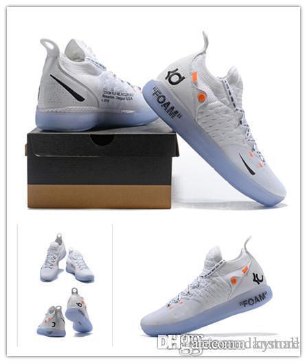 Novos sapatos OG KD 11 Sapatos de Basquete Kevin Durant 11 s homens correndo Atlético off sapatos branco luxo KD EP Elite Esporte Tênis danstore venda