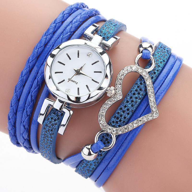 Alta Qualidade Moda feminina pulseira relógio claras somente 23g presentes Senhoras Relógio 6 Cor