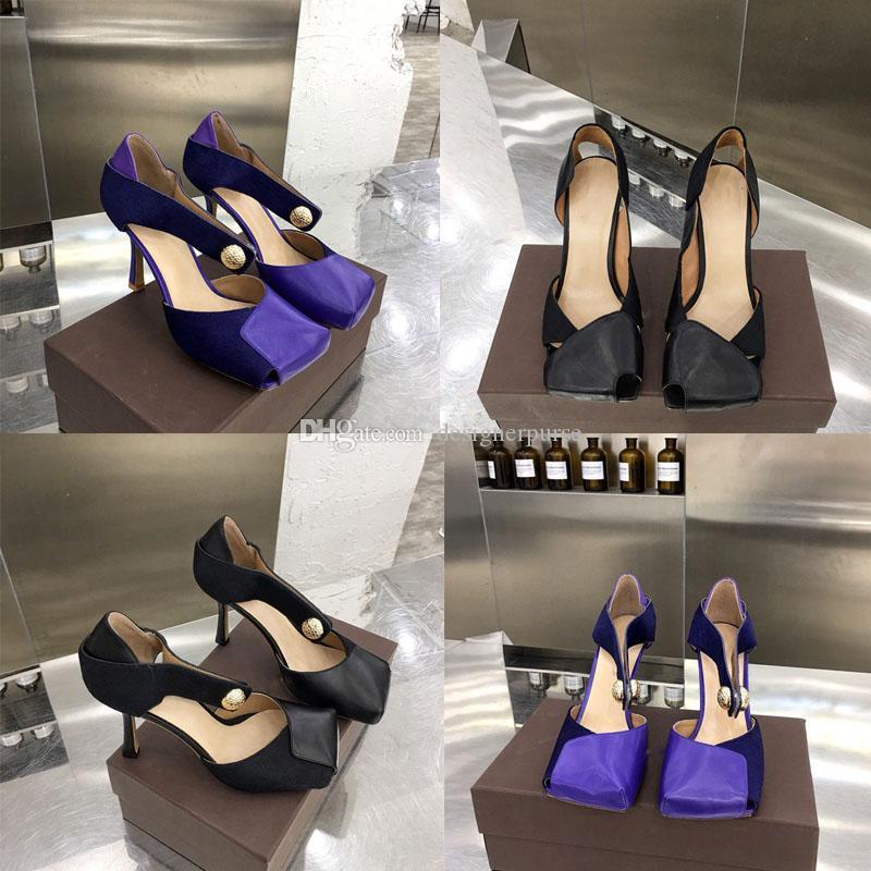 Frauen Sandalen Designer Flip Flop Sandalen Luxusdamenmode Kleid Schuhe Partei Slippers Hochzeit Frau hohe Absätze arbeiten Frauen Pumpen