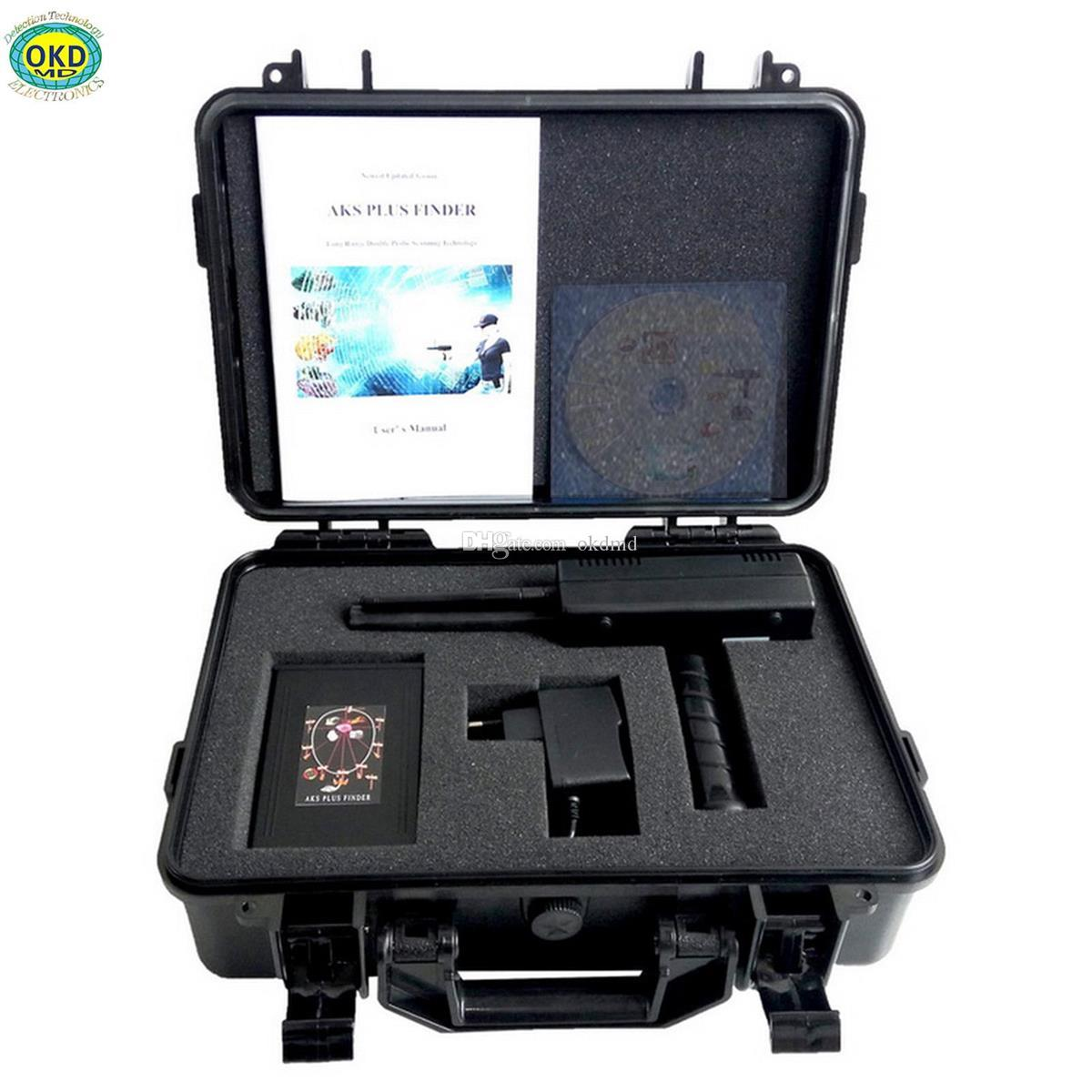 Hot selling AKS PLUS double probe 3D high sensitivity long range underground gold silver copper diamond metal detector