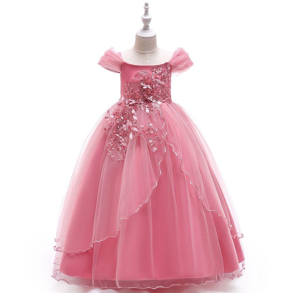 De 5 a 14 años. Vestidos de flores de verano para niñas, ropa de vacaciones para niños, tutú de fiesta, ropa infantil de boutique para niños bebés, R1AA806DS-31