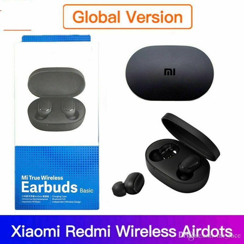 Nueva Airdots TWS inalámbrica Bluetooth 5.0 auriculares estéreo con micrófono manos libres bajo Internation Versión