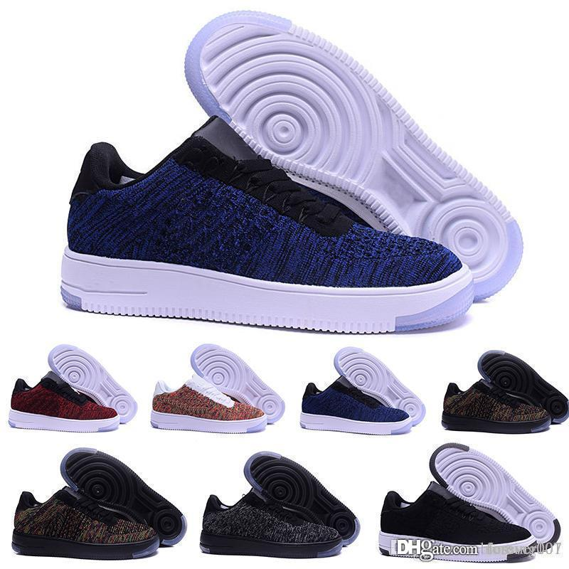 New Men Women Air Low Cut White Black Casual One 1 Dunk Shoes Skateboarding Shoes Classic Sneakers Trainers 36-45