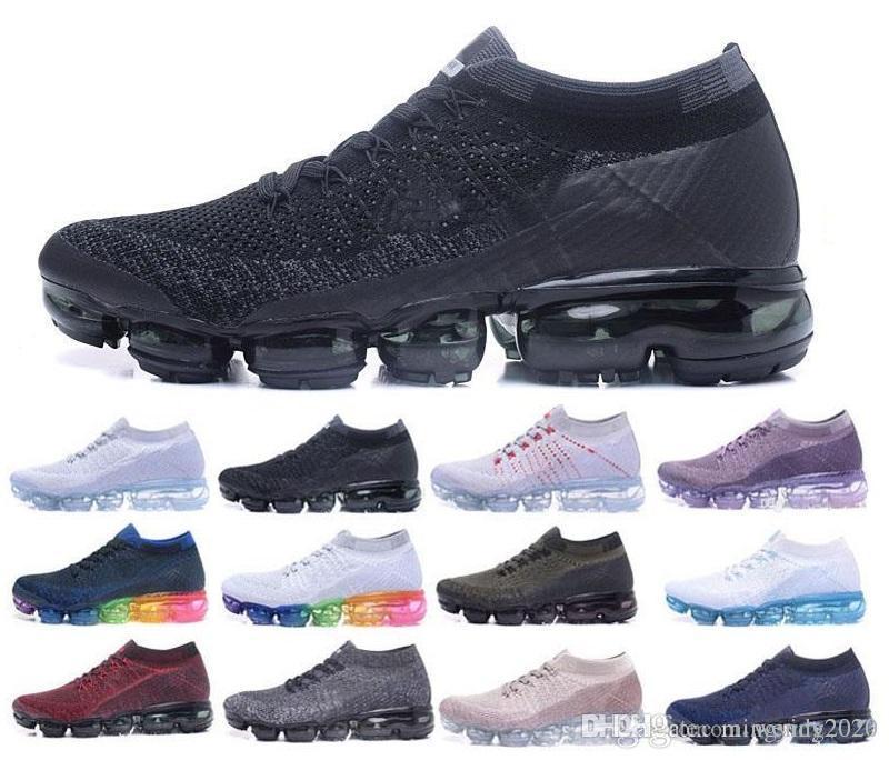 Hava Erkek tasarımcıları Koşu Ayakkabıları Erkekler Için Rahat Hava Yastığı Sneakers Kadın Atletik Açık Süperstar TN Yürüyüş Koşu Spor Ayakkabıları 36-45