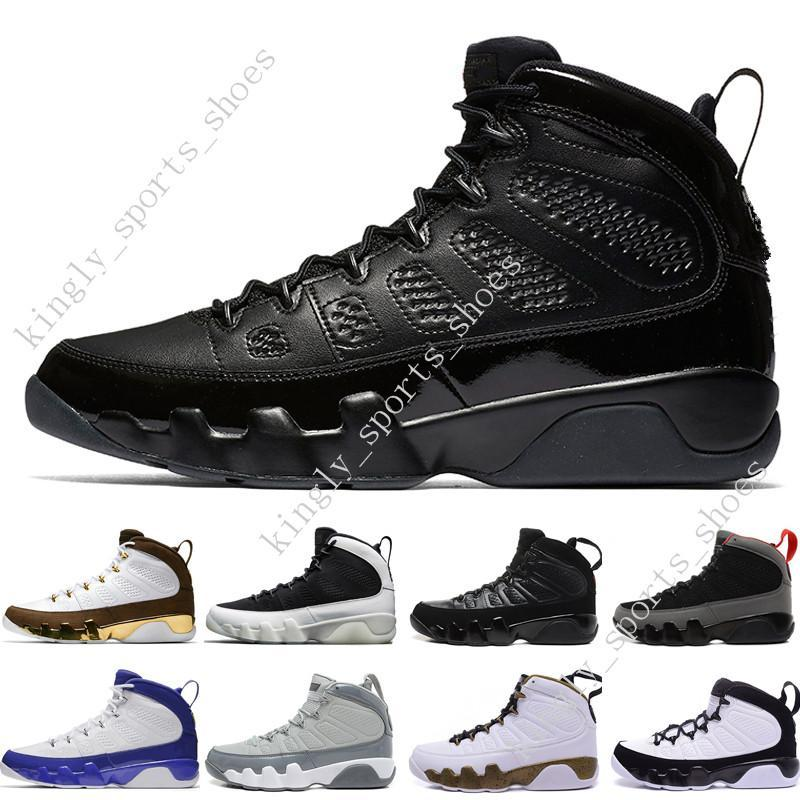 cheap New 9 9s mens basketball shoes LA Bredred OG space Jam Tour blue PE Anthracite The Spirit Johnny Kilroy sports trainers Sneakers desig