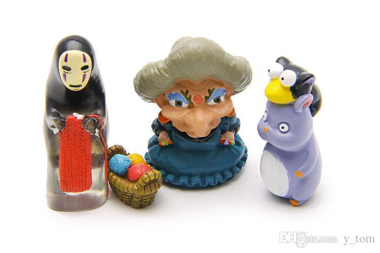 2020 Super Cute Spirited Away No Face Man Diy Flies Mice Vinyl Action Figure Miyazaki Hayao Anime Model 3 8cm Decoration Doll Kids Toys From Y Tom 14 14 Dhgate Com