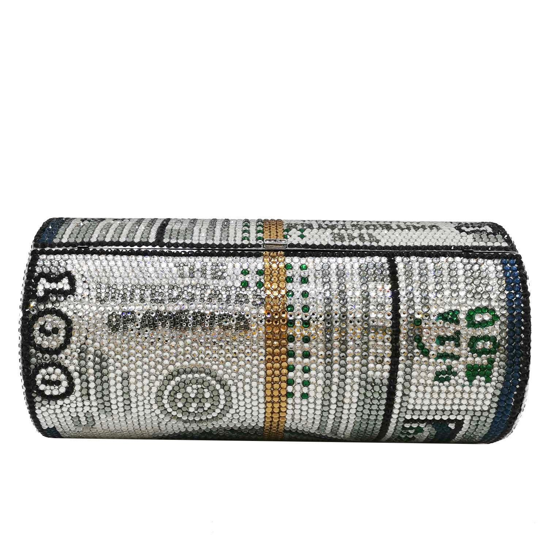 가방 새로운 크리스탈 돈 USD 가방 다이아몬드 저녁 파티 지갑 클러치 가방 웨딩 저녁 지갑과 핸드백 달러 디자인 럭셔리