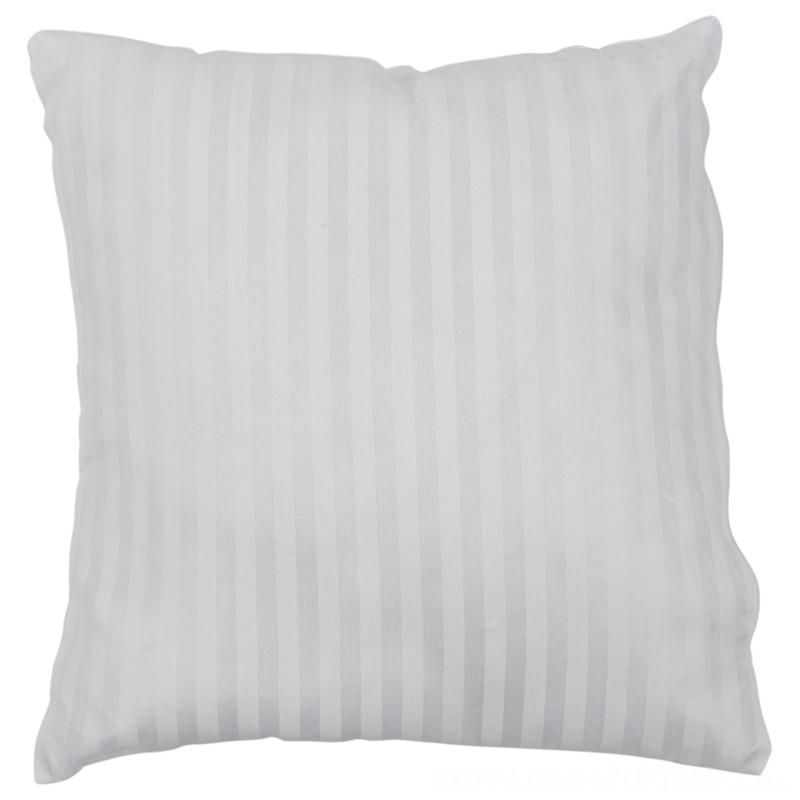 Promotion Striped Vacuum Compression Bedding Supplies Home Textiles Pillow Core Square Pillow Inner Cushion Insert Sofa decoration 4040cm