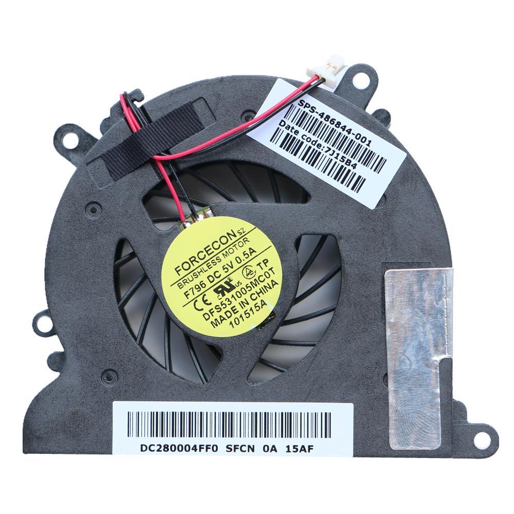 NEW الأصل تبريد FAN FOR HP DV4 CQ40 CQ41 CQ45 CPU تبريد FAN DFS531005MC0T F796 DC5V 0.5A