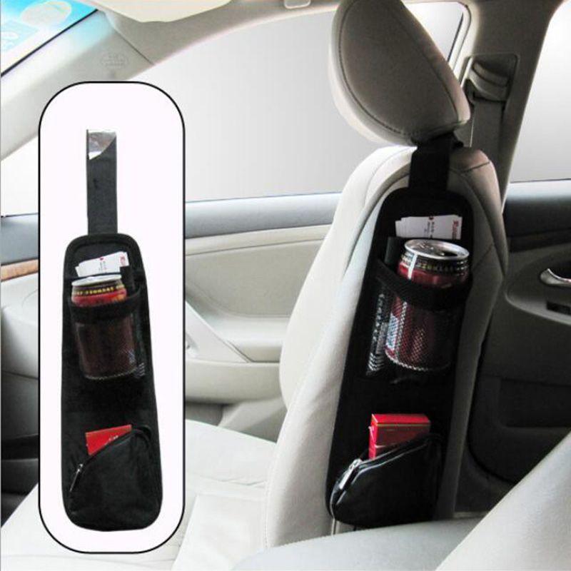 Borsa Side Car Styling sede di automobile di immagazzinaggio dell'organizzatore del sacchetto per riporre Riordino Auto sedile Hanging Pocket sacchetti di nylon Sundries Holder