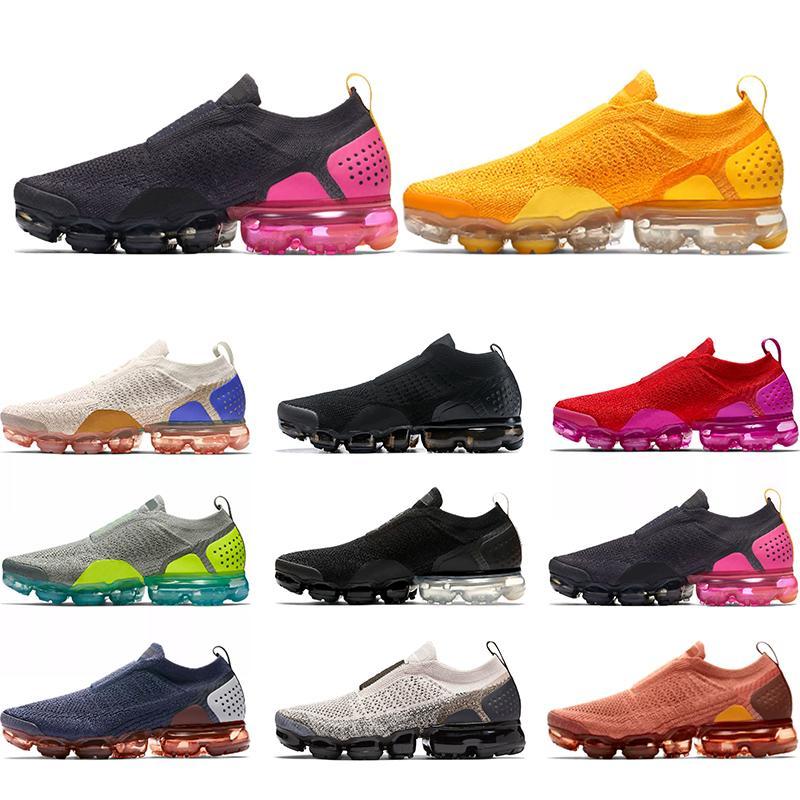 Moc 2.0 Hombres Mujeres Zapatos Tamaño Triple Negro Gris Rosa Trigo Universidad rojo para hombre transpirable zapatillas 36-45 Deportes Correr