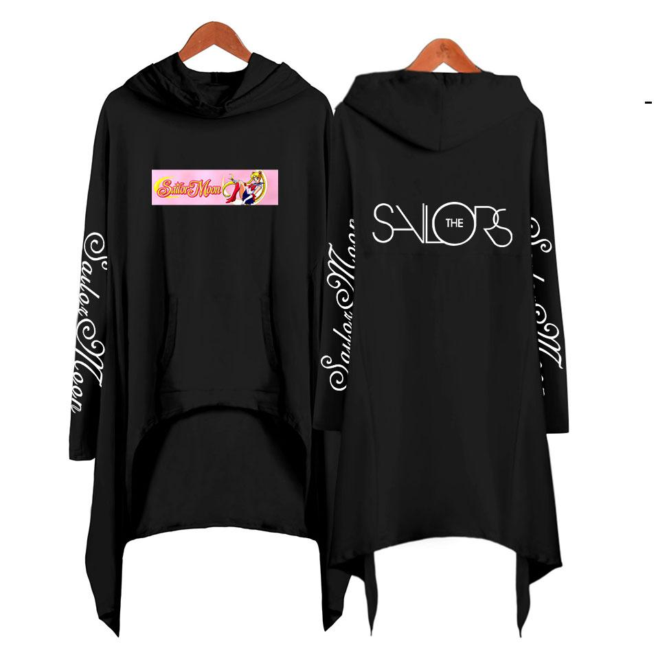 Sailor Moon Sweatshirt Hoodie For Women Clothing Korean Ulzzang Harajuku