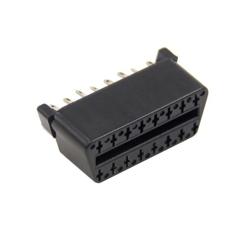 Leitores J1962F OBD2 16 P Conector Fêmea cabo código OBDII 16P OBD2 OBDII Extensão ferramentas de digitalização
