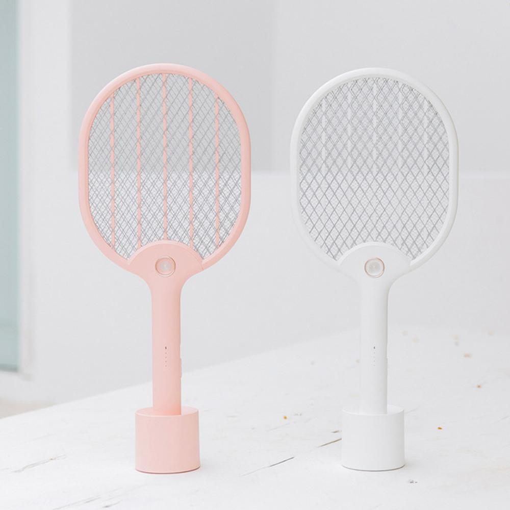 Summer Hot USB Аккумуляторная батарея электрический Fly Mosquito Swatter Bug Zapper Ракетка Насекомые Киллер Главная Bug Zappers со светодиодом