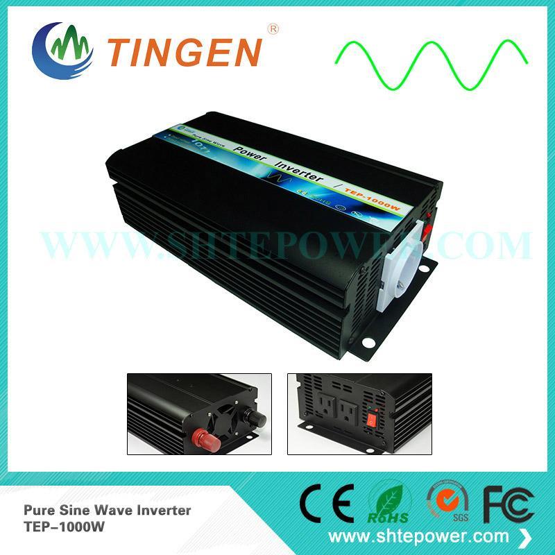 Off-Grid Solar 1000W de onda senoidal pura Inversor 1kw inversor de energia solar
