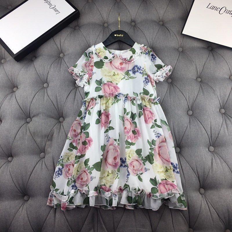 2020 высокого качества малыши одевают модные весенние платья верхней тенденции мило гламур девушка юбка удобную и случайные CHXQ BYS7