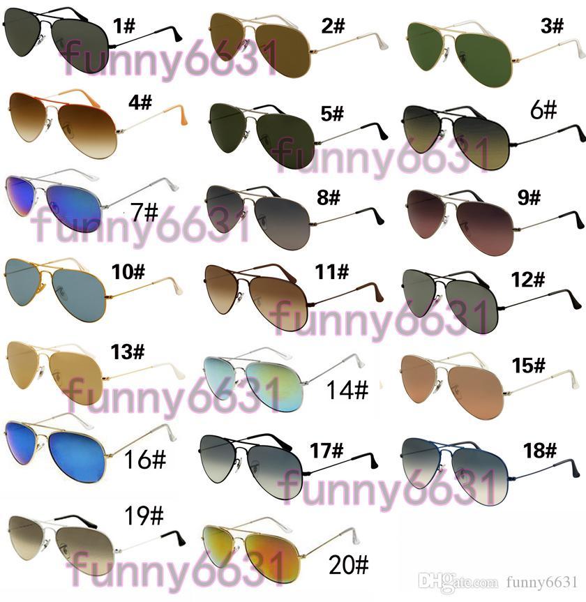 VENDITA CALDA estate GOGGLE uomo UV400 protezione occhiali da sole Moda uomo donna Occhiali da sole unisex occhiali ciclismo occhiali 20 colori spedizione gratuita