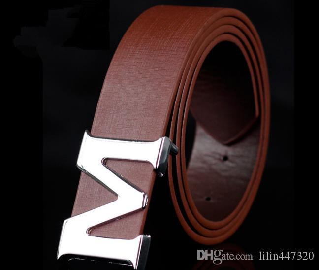 Nuevos cinturones de hebilla de cinturón de la marca de la correa diseñador cinturones de lujo de alta calidad para las correas de los hombres mujeres de negocios los hombres cinturón de cuero 5 colors1