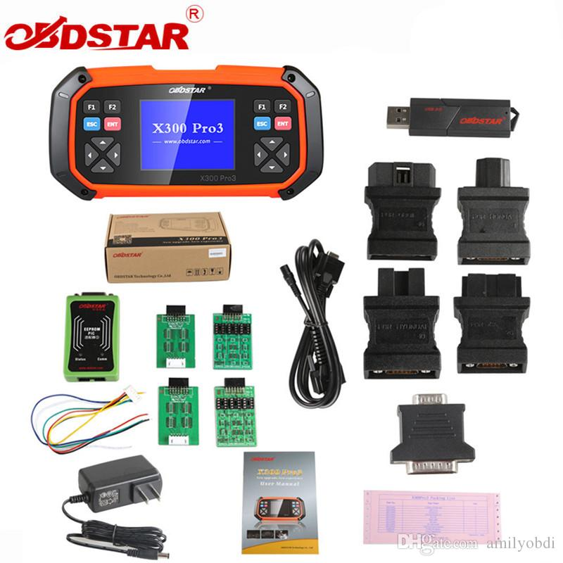 OBDSTAR X300 PRO3 Key Master with Immobiliser + Odometer Adjustment +EEPROM/PIC+OBDII+EPB+Oil/Service reset+Battery matching+Diesel Particu