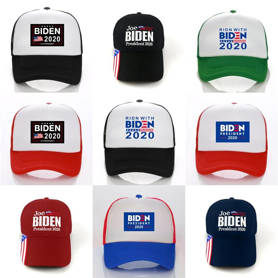 2020 40 1PCS Amerika Büyük Yine Şapka Donald Biden Cumhuriyetçi Snapback Spor Şapkalar Beyzbol # 89 Abd Bayrağı Womens Moda Cap AC5 Caps olun
