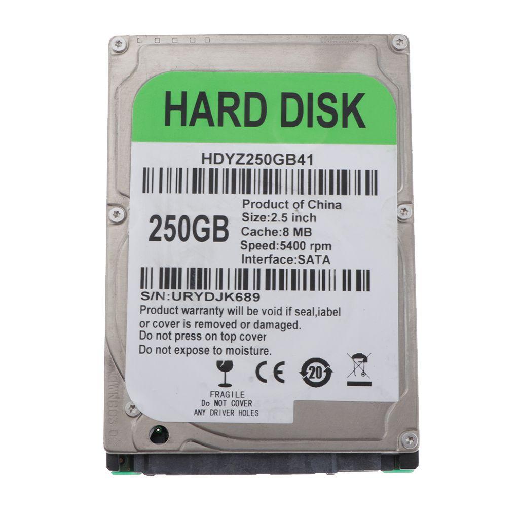 2020 250g 2 5 Mechanical Hard Disk Hdd Sata 8m Internal Hard Drive From Zeyuantrading 23 48 Dhgate Com