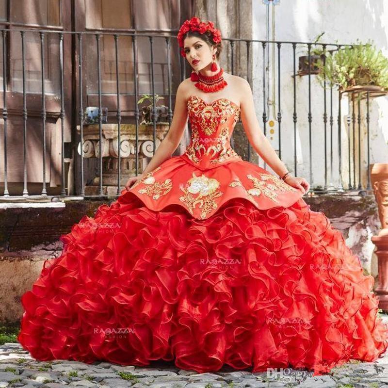Новое прибытие платья Quinceanera бальное платье Sheer Jewel шеи развертки Поезд платья выпускного вечера с кружевом аппликация Backless Сладкие 16 мантий выпускного вечера