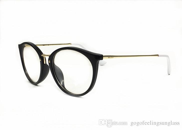 Round Glasses Frames Clear Lens Glass Harry Potter Glasses Metal Frame Women Men Myopia Optical Transparent Glasses