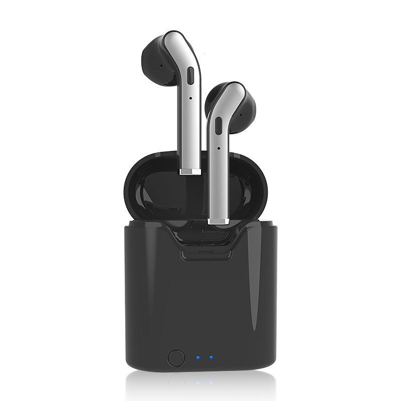 مصغرة بلوتوث 5.0 باس موسيقى ستيريو لاسلكي سماعات للحد من الضوضاء الرياضة سماعات الأذن سماعة السيارات الاقتران سماعة مع حالة شحن