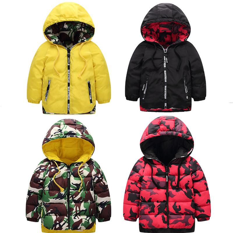 Baby Toddler Boy Girl Winter Thick Coat Warm Clothes Jacket 1-5 Years Old,Kids Long Sleeve Hoodie Parka Jacket