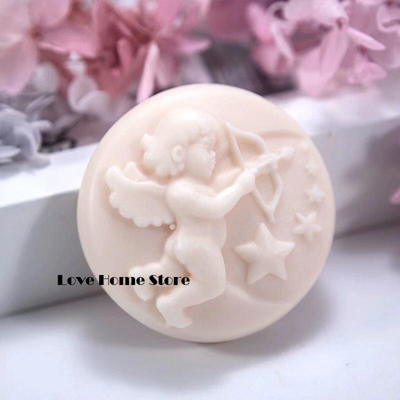 Stampi 3D fai da te Cupido riprese stelle silicone biscotto stampi della torta della muffa del silicone per sapone Handmade caramella della candela kit cioccolato cottura stampi
