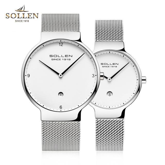 Orologio da uomo automatico ultrasottile da 7 mm, semplice orologio meccanico, cinturino in acciaio impermeabile da polso Orologio da uomo relogio masculino