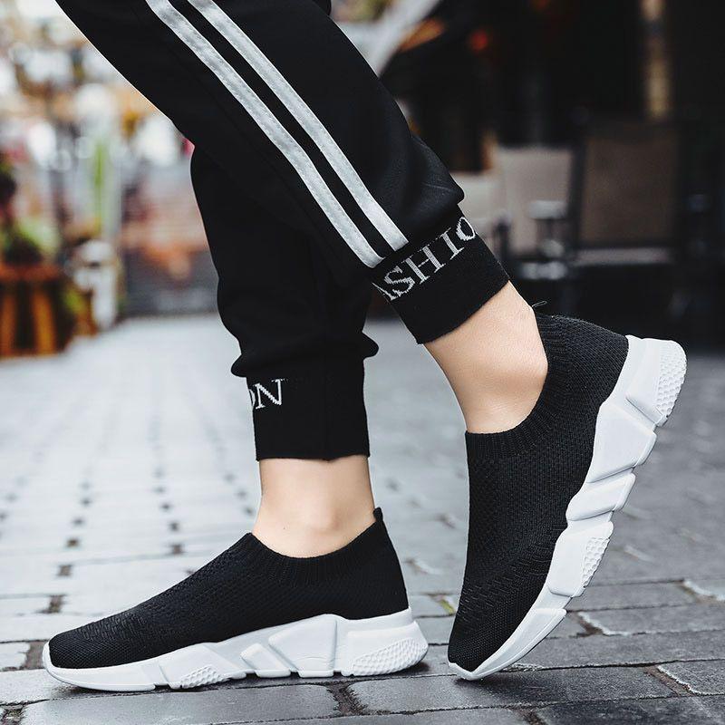 las mujeres de primavera y verano de los zapatos corrientes calcetines zapatillas de deporte de las mujeres de malla transpirable zapatillas de deporte de la mujer zapatos