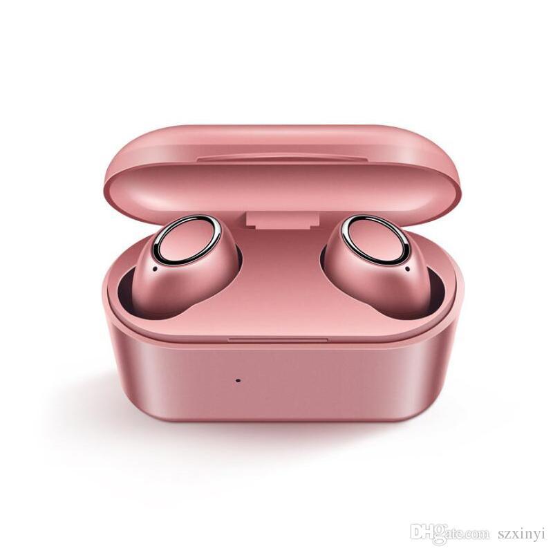 D015 TWS Touch Auriculares inalámbricos Bluetooth V5.0 Auriculares Bluetooth deportivos con caja de cargador para teléfonos inteligentes Android Andriod de alta calidad