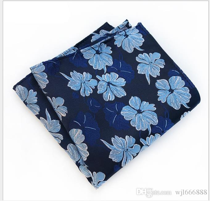 Suit pocket scarf Men's small square scarf Business evening wear pattern chest scarf handkerchief