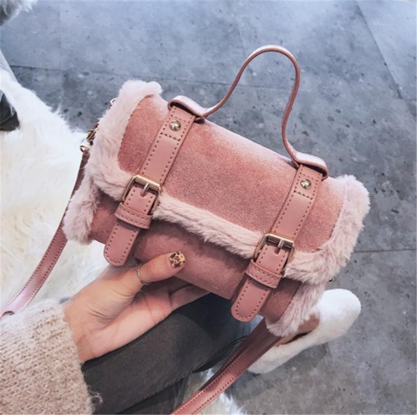 Designer de luxe Sac à bandoulière femmes Sac à main Automne et Hiver Mode Nouvelle-coréen de la mode tout autour d'une épaule Messenger Carrying4