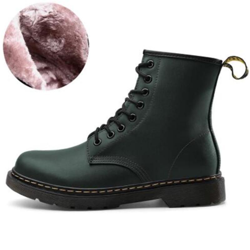 Novas mulheres botas de couro confortável respirável moda leve casuais resistentes ao desgaste anti-derrapante pares projeto botas tênis