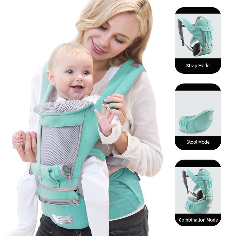 Ergonómico portador de bebé infantil chico Babys Hipseat Sling frente canguro bebé abrigo portador para bebé viaje 0-36 meses Babys productos